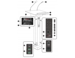 Lectern PA System