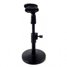Portable Desk Adjustable Microphone Stand - with mic holder - XMS-D101H