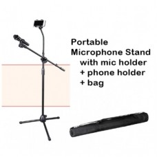 Portable Adjustable Microphone Stand - XMS-F103B