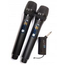 Dual Portable Wireless Handheld Microphone - XWM-PD229-HH