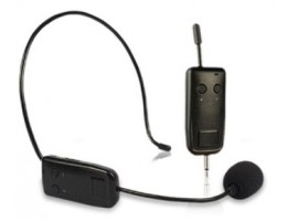 Wireless Microphone with Portable Receiver