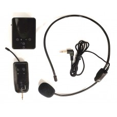 Portable Bodypack with Headset Microphone - XWM-P305-BP