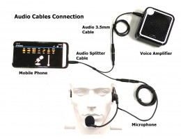 Audio Adapter Cables Connection