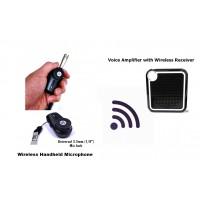 Wireless Mini Microphone Bodypack with Voice Amplifier Speaker XVA-VC319-BPM18