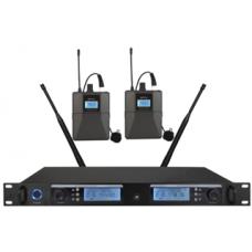 Wireless Microphone System 1-2 (Bodypack Microphone) - XWM-S202-BP08